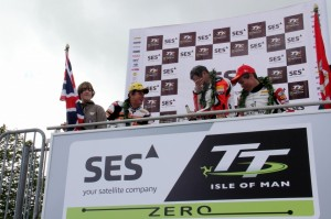Team Mugen at TT PODIUM