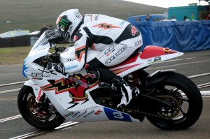 Team Mugen at TT 2012 Race Shot